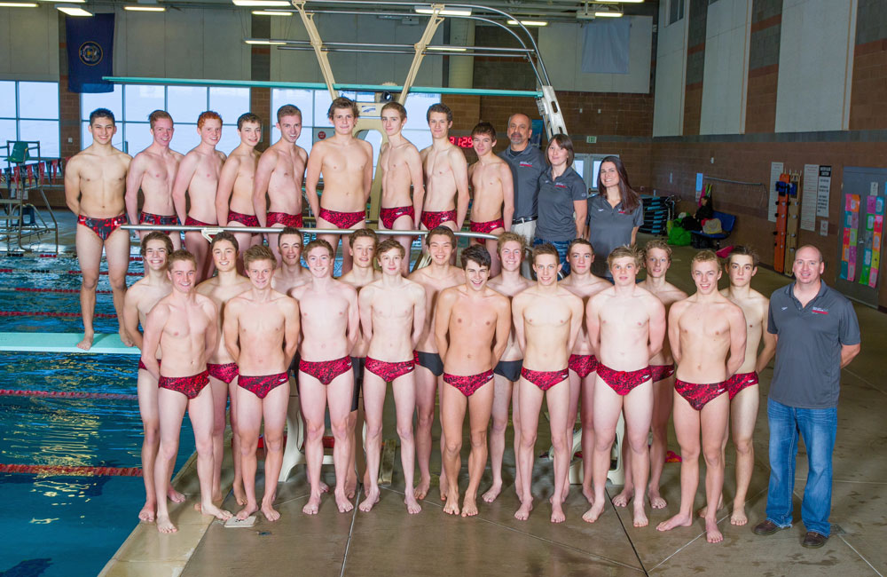 Park City High School Swim Team - Mens State Champions