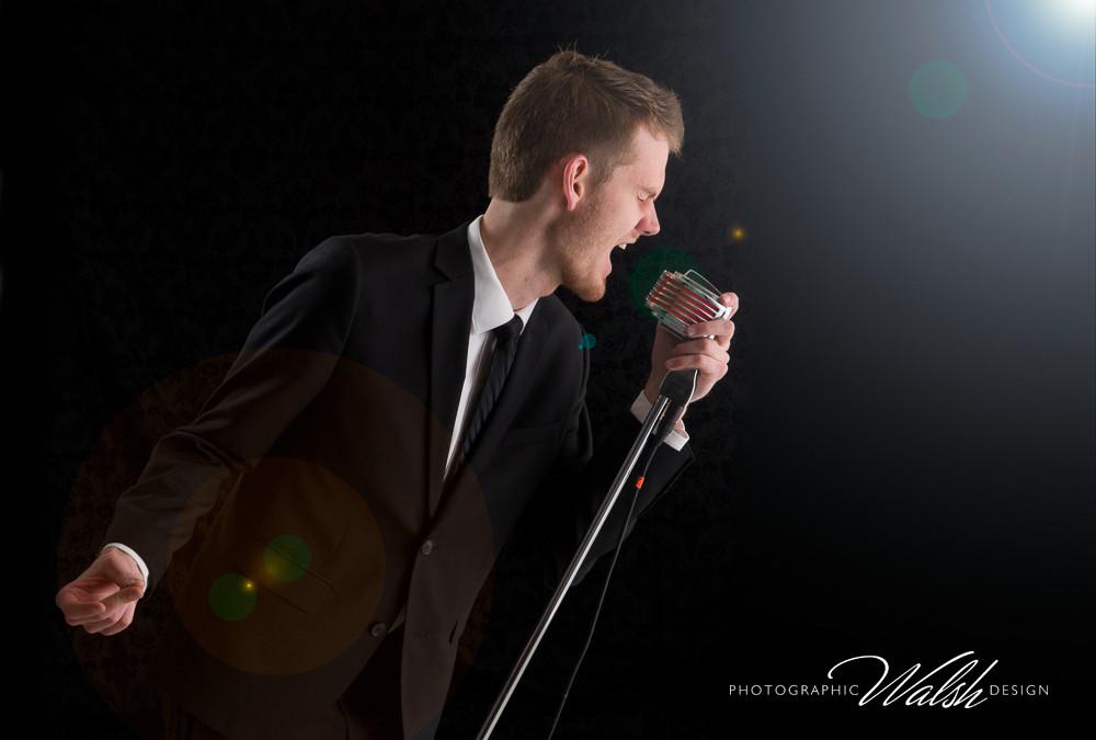 Brett Howard, Jazz Singer for the PCHS Jazz Varsity Ensemble